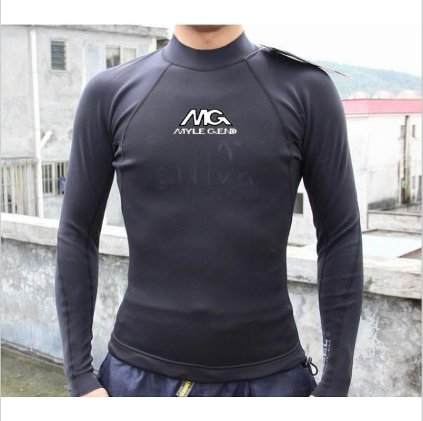 free shipping Mens 1.5mm Top Quality Neoprene CR material surfing wetsuit top from China(China (Mainland))