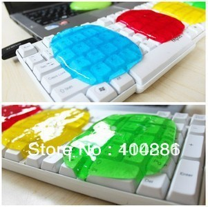 Free postage crystal edition magic universal keyboard clean gum magic to dust mud keyboard clean gum
