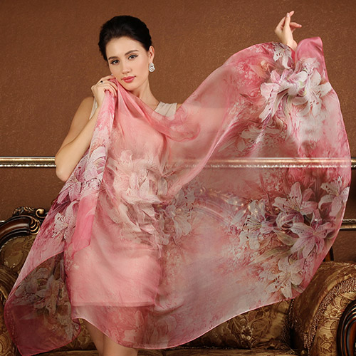 High quality 100% mulberry silk scarf natural real silk Women Long scarves Shawl Female hijab wrap Summer Beach Cover-ups P11(China (Mainland))