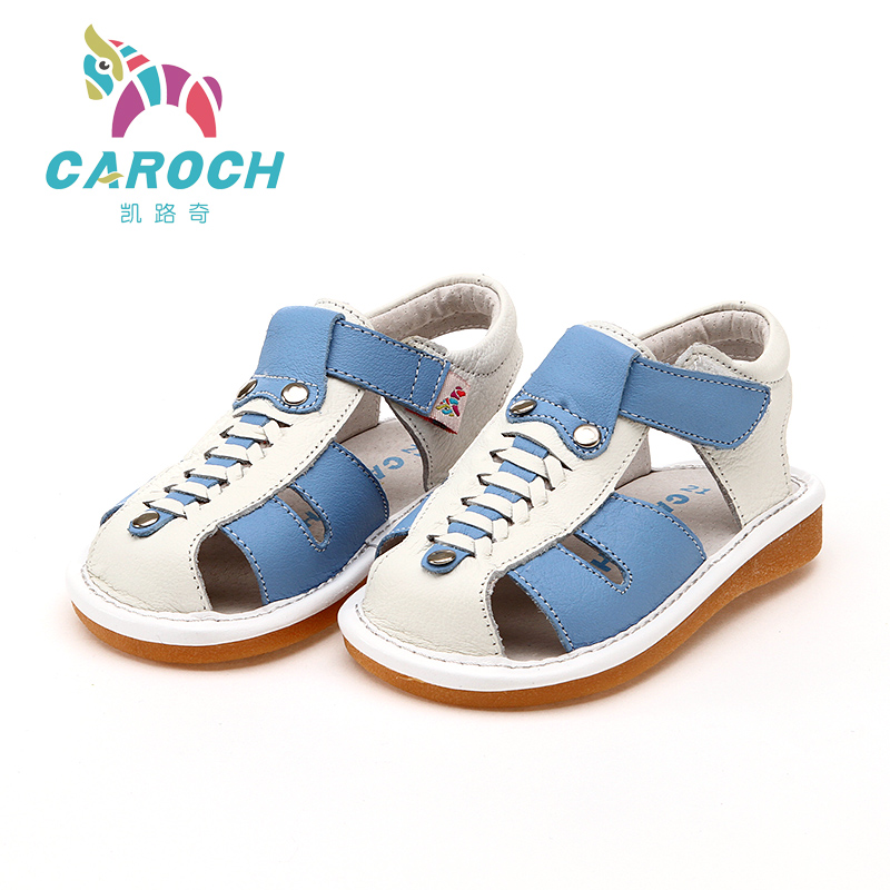 free shipping genuine leather baby sandals for boy casual ...