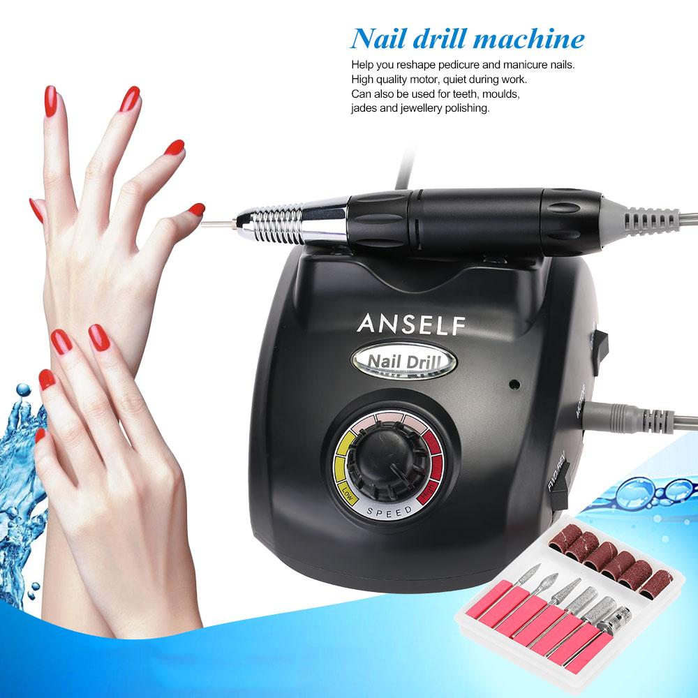 electric nail drill file machine