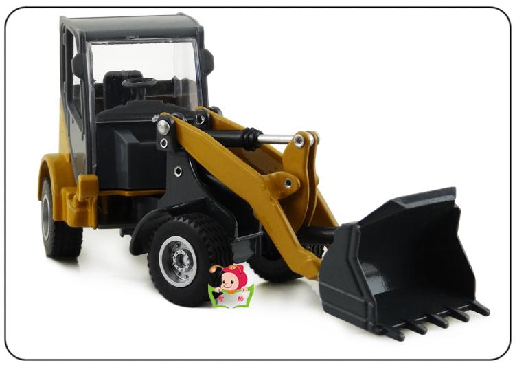 huayi 1:60 H1 / China a big heavy bulldozer shovel loaders / truck full alloy model toys(China (Mainland))