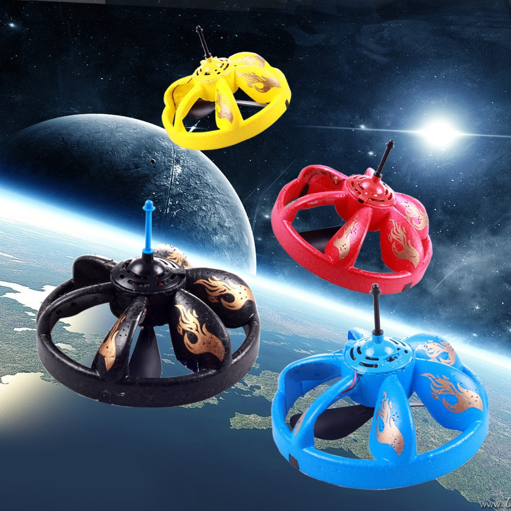 Infrared Sensor Flying Saucer UFO Hand Induced Hovering and Floating Flight with LED Light Remote Control Flying Saucer UFO(China (Mainland))