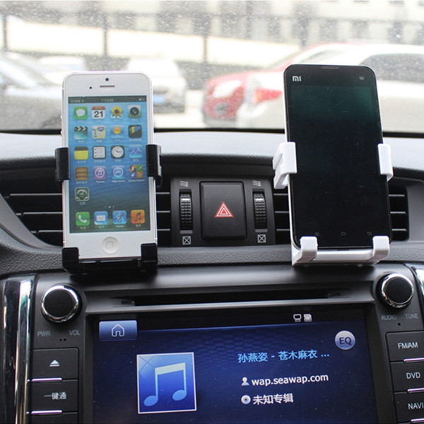 Universal Stand Car Holder For Iphone 6/Plus 5s 4 Car Air Vent Mount Holder GPS Accessories Stand For Your Mobile Phones Holders(China (Mainland))