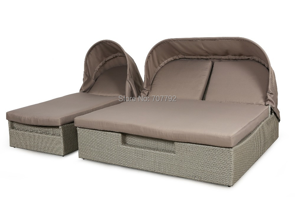 Round outdoor daybed promotion shop for promotional round for Chaise daybed sofa