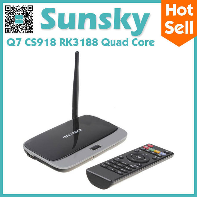 Q7 Quad Core Google Android 4.2 mk888 Cortex-A9 1.6Ghz TV BOX HDMI HDD Player 2G/8G External Wifi Antenna Ethernet black