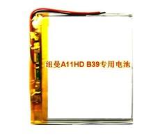 Ньюман A11HD B39 MP4 3.7 В специальный литий-полимерная батарея емкости полимерный аккумулятор подлинная