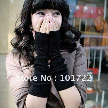Min.order is $15 (mix order) fashion exceed longer weave mitt cuff arm warmer