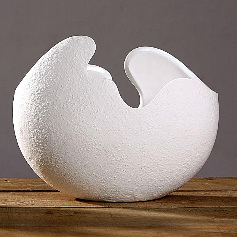 achetez en gros shell shaped vase en ligne des grossistes shell shaped vase chinois. Black Bedroom Furniture Sets. Home Design Ideas