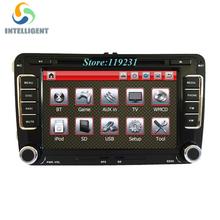 2 DIN Car DVD GPS Radio stereo for VW golf 4 golf 5 6 touran passat sharan jetta caddy t5 polo tiguan transporter SEAT(China (Mainland))