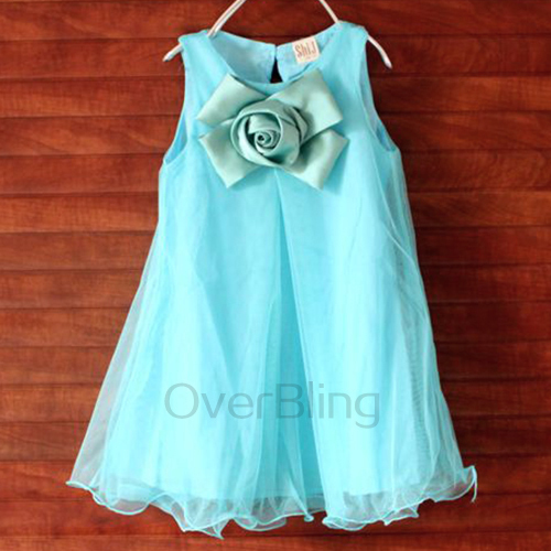 AliExpress.com Product - 2014 Girl's Fashion Apparel 3~7Age Flower Kid Party Girls Dress Cotton Ruffled Children Clothing 1pcs Retail