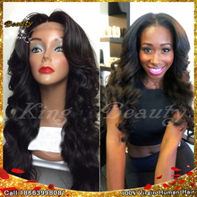 7A Virgin Peruvian U Part Wig For Black Women Body Wave U Part Wigs Virgin Hair 130-180 Density Middle Part Upart Wig Free Ship(China (Mainland))