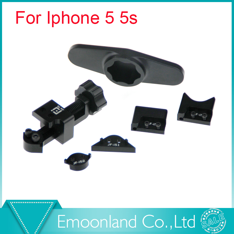 Фотография Free Shipping Tool Kit Corner For iPhone 5 5S Corner Sidewall Repair Tool Bends Frame Back Full Sets JF-865 Ferramentas Manuais