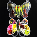 Hot 99pcs lot fishing lure Set Mixed fishing tackle fishing lure soft Crank Lures Mix fishing
