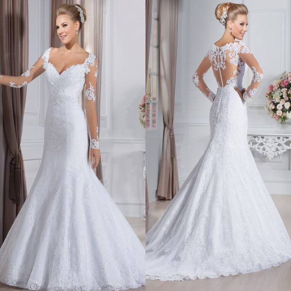 New fashion of wedding dresses
