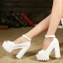 2014 women's summer shoes gauze open toe sandals platform shoes female thick heel platform high heels female sandals(China (Mainland))