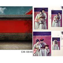Photo Studio Backdrop Baby Redwall Forbidden City Chinese Ancient Architecture Backgrounds