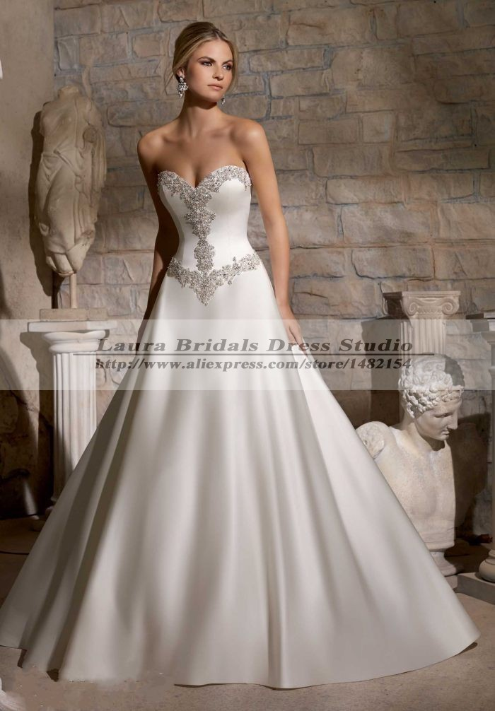 Vestido de noiva princesa 2015 elegant costume wedding for Dresses for civil wedding