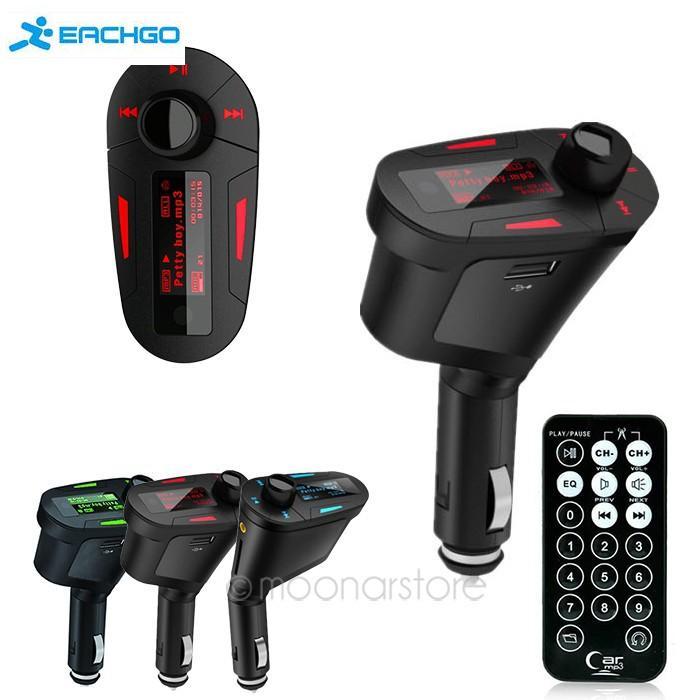 Car Styling Mp3 Player car audio Car Kit MP3 Mucsic Player Wireless FM Transmitter Radio Modulator USB SD MMC+ Remote Control(China (Mainland))