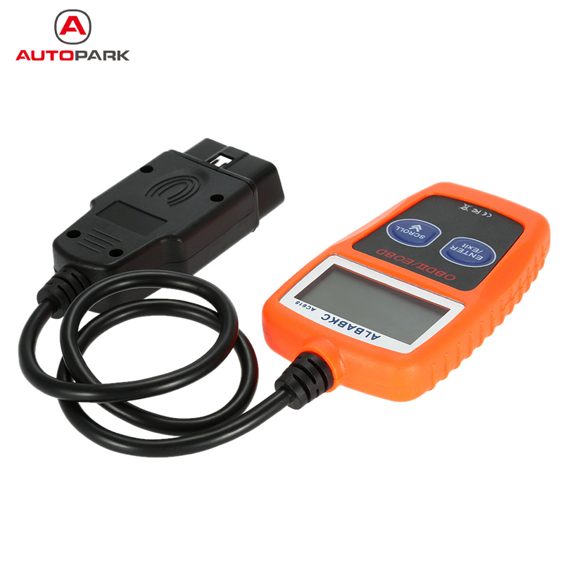 Professional ALBABKC AC618 OBD OBDII Auto Car Diagnostic Scan Tool Code Reader Scanner Support All OBD2 Protocols(China (Mainland))