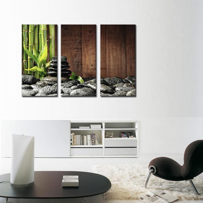 Popular bamboo wall art buy cheap bamboo wall art lots for Poster mural zen deco
