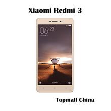 "Xiaomi origine Redmi 3 corps métallique 2 G RAM 16 G ROM 4100 mAh Snapdragon 616 Octa Core 5 "" 1280 X 720 FDD LTE Mobile téléphone(China (Mainland))"