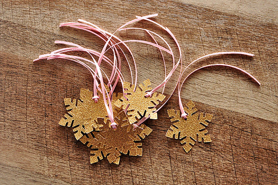Winter Onederland snowflake Party Decorations Baby Shower gift Favor Tags Wedding Birthday Party Favors Wish Tree Tags DDF852(China (Mainland))