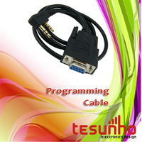 free shipping radio serial port programming cable