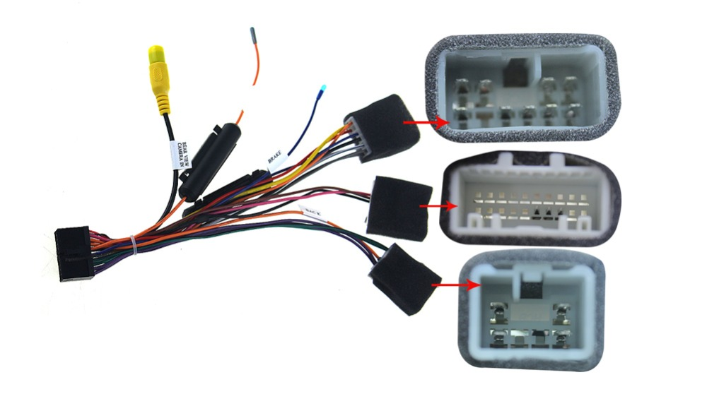 special wiring harness for toyota universal iso harness car radio power adaptor power cable
