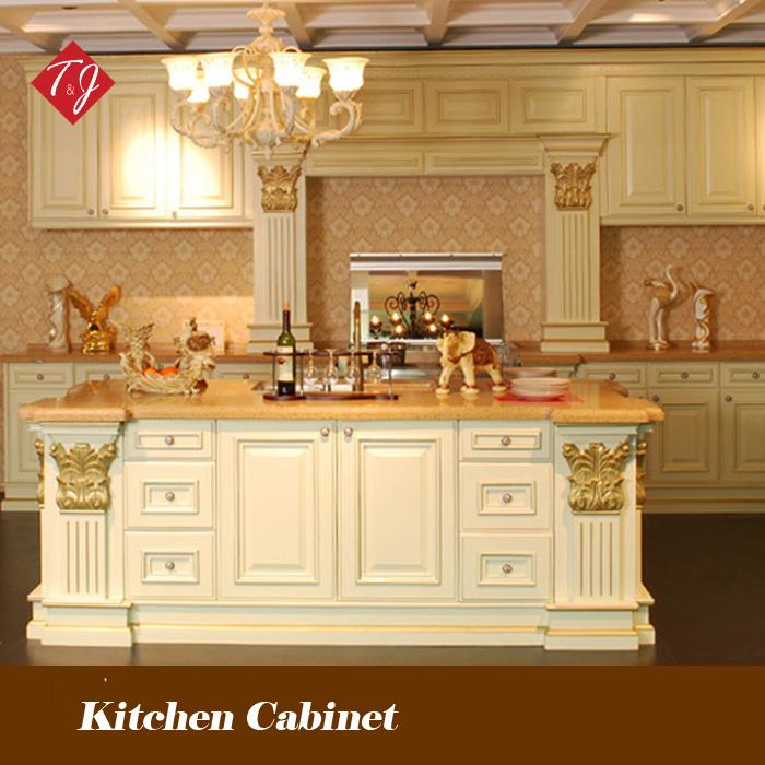 Free design 2014 popular solid wood kitchen cabinet for Best kitchen cabinets 2014