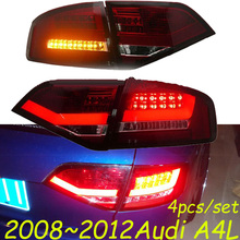Only 480USD/SET!2008~2012 car LED rear taillight,35W 12V,4pcs/set(2pcs Left+2pcs Right),smoke red color,ABS material,good!(China (Mainland))