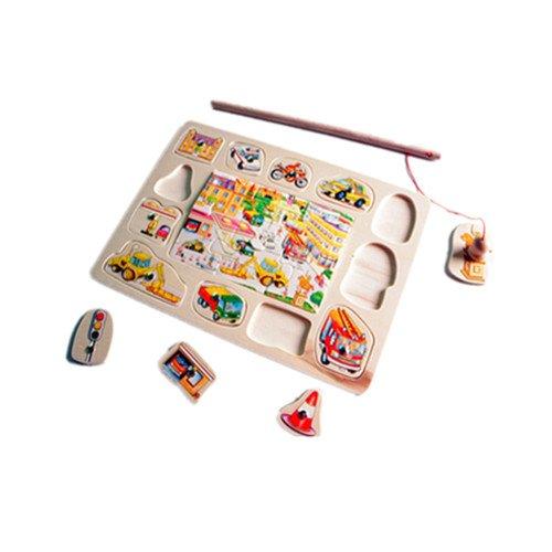 Children's educational toys transport fishing puzzle #2071(China (Mainland))