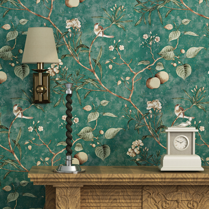 Online buy wholesale bird live wallpaper from china bird for Carte parati decorative