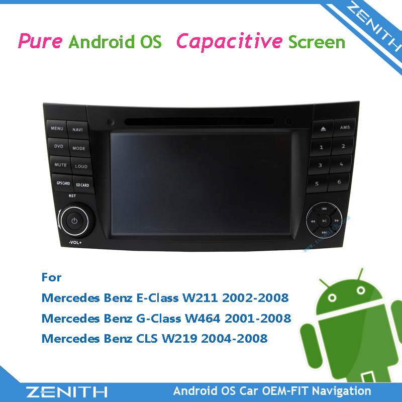 NEW Quad core radio mercedes w211 w463 Vehicle GPS For Mercedes Benz W211 CLS W219 W463 + Benz Canbus(Hong Kong)