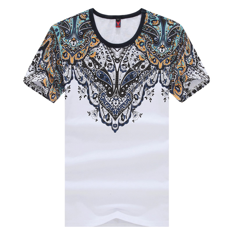 2016 summer new men 39 s cotton t shirt printing slim chinese T shirt printing china