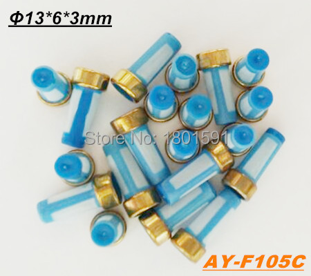 Wholesale PREFECT QUALITY microfilter fuel injector basket filter 13*6*3mm for Corsa Vectra S10 injector (AY-F105C)(China (Mainland))