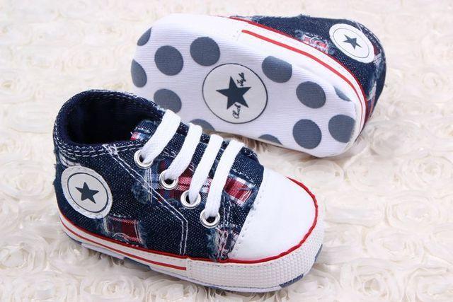 Новые розничные мальчики звезда марка полотна малыш обувь 11 см 12 см 13 см весна ...