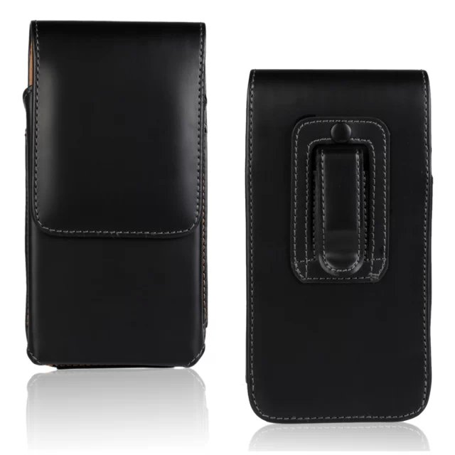 For Apple iPhone 3GS Men Belt Clip Leather Pouch Waist Bag Phone Cover Belt Leather Case(China (Mainland))