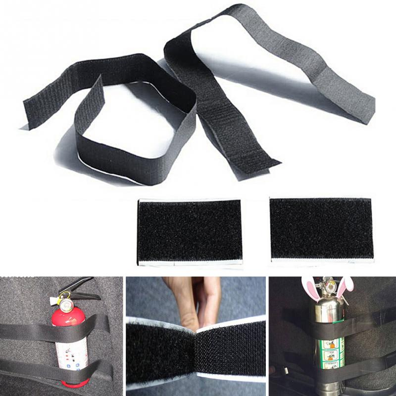 4pcs New Car Trunk to receive store content bag storage network for Skoda Fabia Rapid Superb Yeti Fire extinguisher