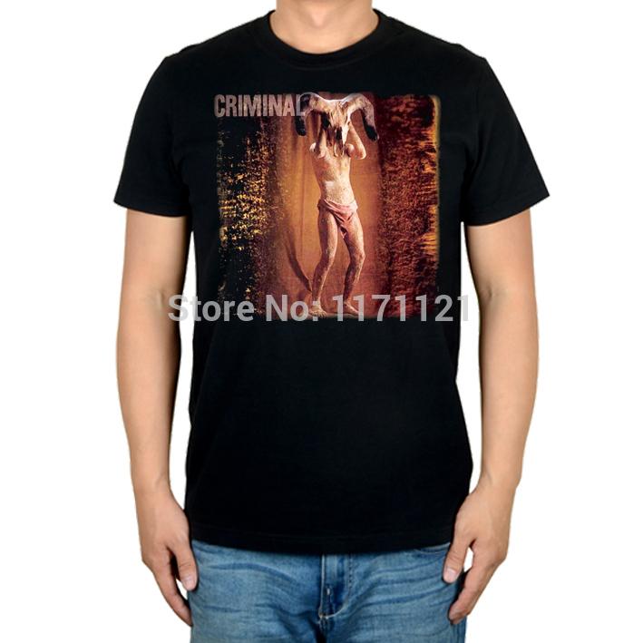 Criminal Dead Soul album death thrash metal chile black new t-shirt size S-XXXL(China (Mainland))