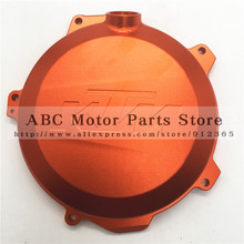 KTM Billet Engine Case Clutch Cover Protector SXF EXCF XCF XCFW Freeride 250CC 350CC Enduro Motocross Supermoto High Performance(China (Mainland))