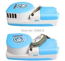 Mini портативная USB охлаждение испарительного вкладыш охладитель воздуха кондиционируемый вентилятор