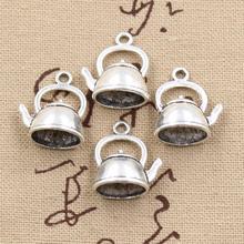 Buy 10pcs Charms teapot kettle 20*17*10mm Antique charms pendant fit,Vintage Tibetan Silver,DIY bracelet necklace for $1.97 in AliExpress store