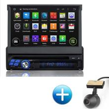 "Kanor Android 5.1 Quad Core Touchscreen 1 Din Car DVd Player Universal GPS Navigation FM 7"" In Dash Car Audio Multimedia(China (Mainland))"