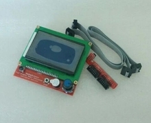 New version Full Graphic Smart 12864 128*64 LCD Display controller adapter for RAMPS 1.4, free ship, free tracking number