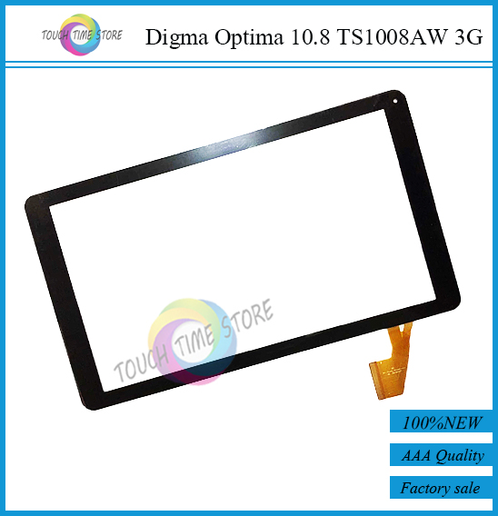 Original New Digma Optima 10.8 TS1008AW 3G touch screen digitizer glass touch panel Sensor replacement Free Shipping(China (Mainland))