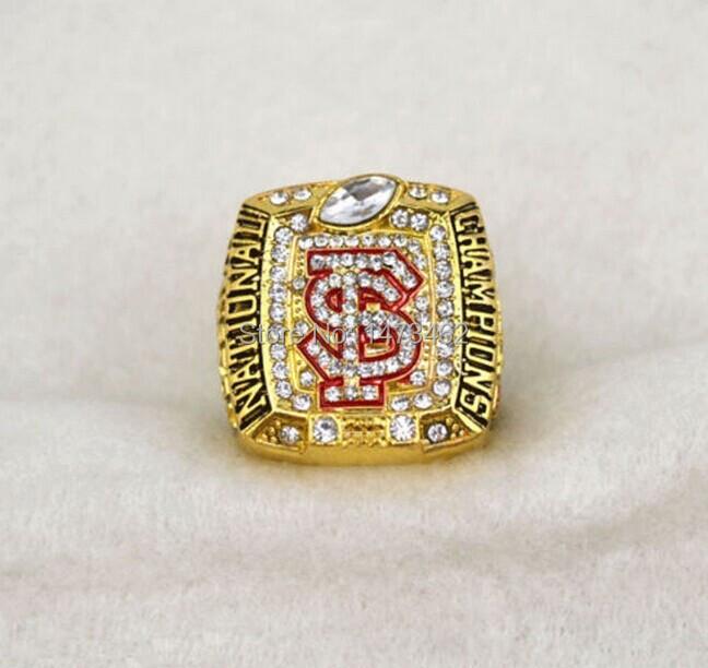 Sports rings Replica 2013 Florida State Seminoles NCAAF BCS National Championship ring-Winston for man(China (Mainland))