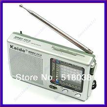 Free Shipping Pocket Radio Superheterodyne KK9 TV FM AM SW17 Receiver