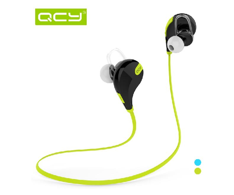 Original new QCY QY7 Wireless Bluetooth 4.1 Stereo Earphone Fashion Sport Running Headphone Studio Music Headset with Microphone(China (Mainland))