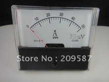 Buy Analog Amp Panel Meter Current Ammeter DC 0-50A for $5.42 in AliExpress store